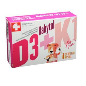 Babytol D3+K1 twist off kapsule 400i.j.