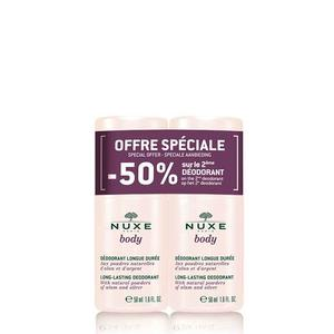 Nuxe body deo roll on DUO pack 2x50 ml