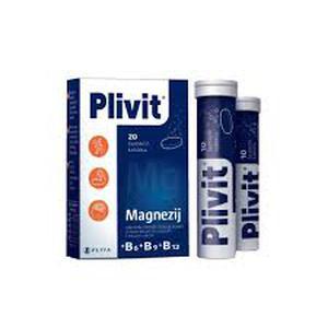 Plivit magnezij 20 šumećih tableta