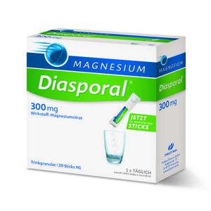 Diasporal magnezij 300mg  20 granula