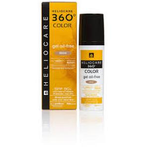 Heliocare 360 oil-free gel SPF50  BEIGE  50 ml