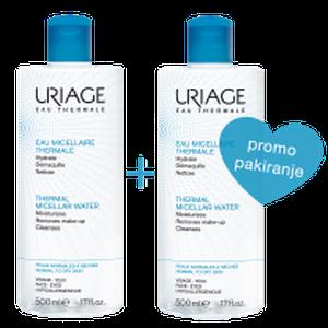 Uriage micelarna voda normalna koža 500 ml DUO