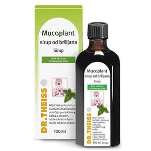 Dr.Theiss Mucoplant sirup od bršljana 100 ml