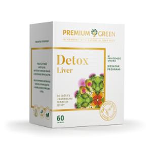 Premium green detox liver 60 kapsula