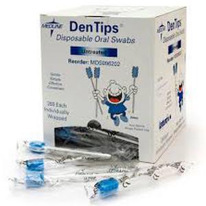 Dentips spužvice za njegu usta plave
