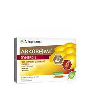 Arkoroyal dynergie gineng,matična mliječ,acerola 20 ampula