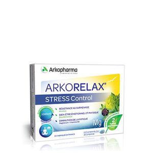 Arkorelax stress control 30 tableta za žvakanje