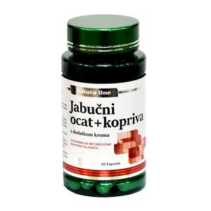 Biofarm jabučni ocat s koprivom +krom 60 kapsula