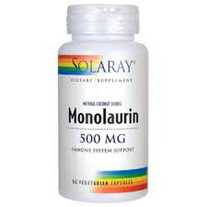 Solaray monolaurin 500 mg  60 tableta