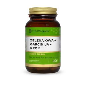 Pharma health zelena kava+garcinia+krom  90 kapsula