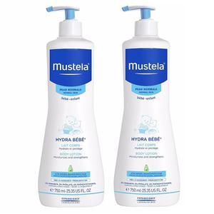 Mustela hidratantno mlijeko za tijelo 750 ml  1+1 gratis