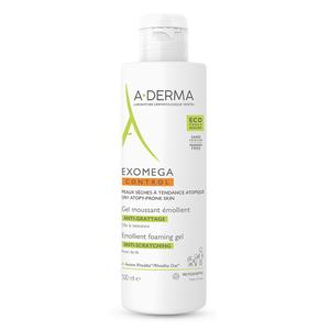 Aderma Exomega control emolijentni pjenušavi gel 500 ml