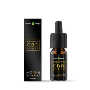 Pharmahemp CBD premium black kapi 24%   10 ml