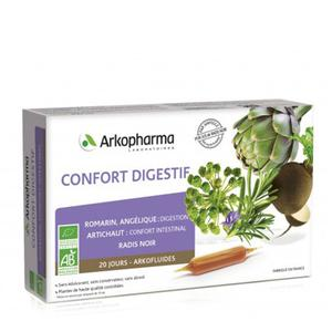 Arkopharma Arkofluid digest confort bio 20 ampula