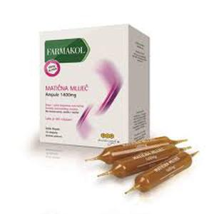 Pip Farmakol Matična mliječ ampule junior 500 mg 10 ampula