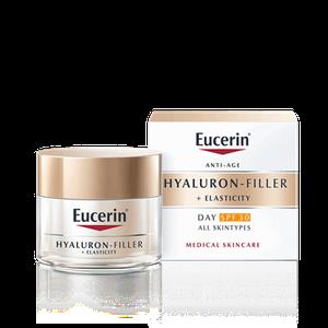 Eucerin Hyaluron Filler + Elasticity dnevna njega SPF 30 50 ml