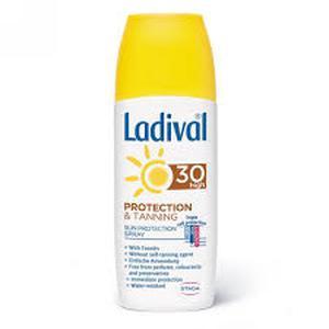Ladival sprej za zaštitu od sunca protect & tan SPF30  150 ml