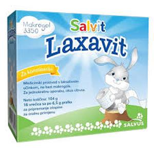 Salvit Laxavit prašak 16x6,5 g