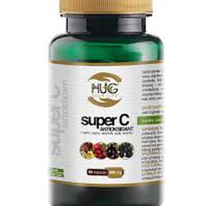 Hug super C vitamin antioksidant 500 mg 60 kapsula