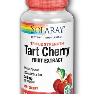 Solaray tart cherry extract 340 mg  90 kapsula