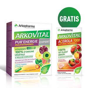 Arkopharma pure energy expert 30 tableta + Acerola gratis