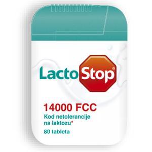 Lactostop 14000 FCC 40 tableta