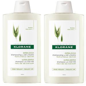 Klorane zob šampon 400 ml DUO