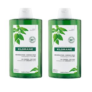 Klorane organska kopriva šampon 400 ml DUO