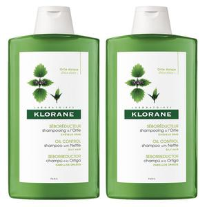 Klorane kopriva šampon 400 ml DUO