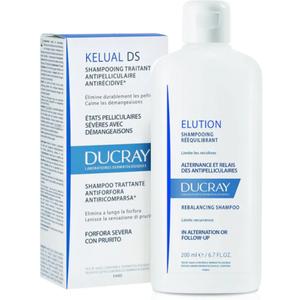 Ducray Kelual šampon +Elution šampon PROMO