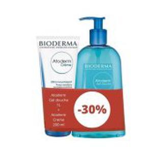 Bioderma Atoderm gel 1000 ml+Atoderm krema 200 ml gratis