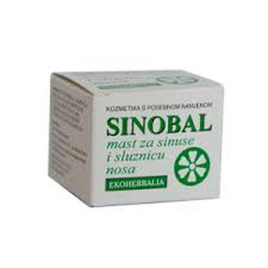 Ekoherbalia sinobal mast za sinuse 15 ml