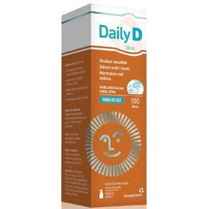 Hamapharm daily D 1000 IU D3 sprej za dojenčad i djecu
