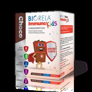 Biorela choco immuno kids 20 prutića