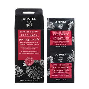 Apivita express beauty maska nar 2X8 ml