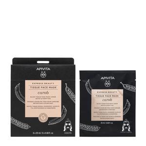 Apivita express beauty sheet maska rogač 20 ml