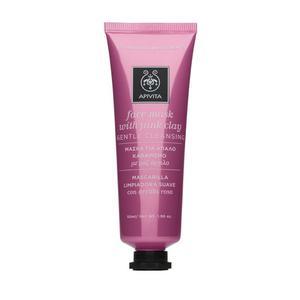 Apivita maska za lice ružičasta glina 50 ml