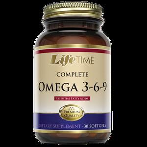 Life time omega 3-6-9 30X1200mg kapsule