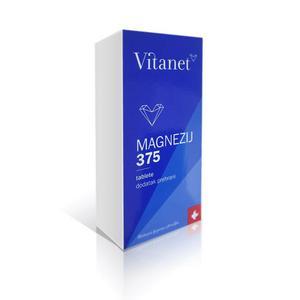 Vitanet magnezij 375 mg a60 tableta