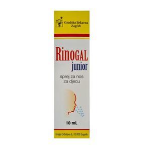 Rinogal junior sprej za nos 10ml