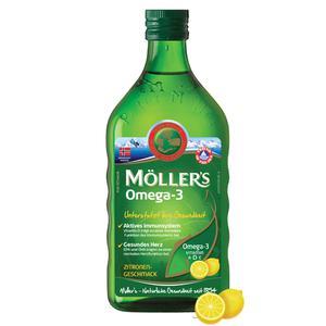 Mollers omega 3 ulje limun 250ml