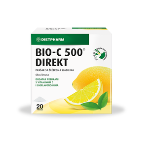 Bio-C 500 direkt vrećice 20X2,5g