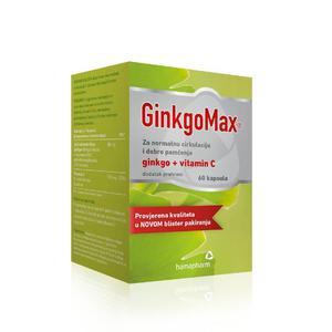 GinkgoMax 60 kapsula