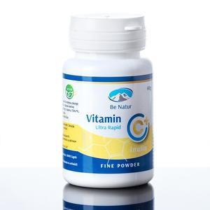 Be Natur vitamin C + inulin, prah
