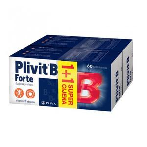 Plivit B forte 60 kapsula 1+1