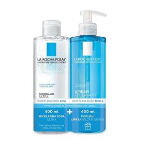 La Roche-Posay micelarna otopina osjetljiva koža 400ml + gel za tuširanje gratis