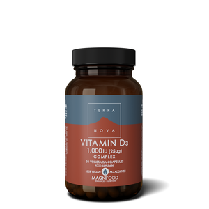 Terra Nova vitamin D3 1000IU kompleks 50 kapsula