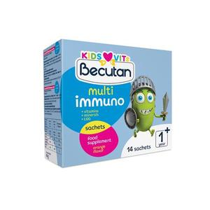 Becutan Kids Vits Multiimuno prah 14 vrećica