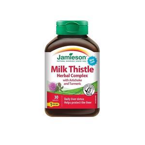 Jamieson herbal liver detox 30 tableta