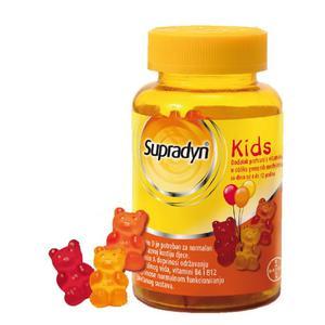 Supradyn Kids gumeni medvjedići, 30 komada